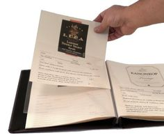 Refill Pages for Wine Label and Tasting Journal  for Hobbymaster Leather  Fabric Versions -- For more information, visit image link.