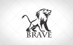 Majestic Lion Logo For Sale - Lobotz