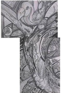 "Saatchi Art Artist Inna Kulagina; Drawing, ""You are my music."" #art"