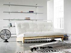 FRESH - sofa drewniana z materacem