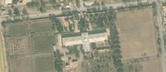 """Bombed hospital in Kunduz broke international law when they forcibly removed civilian patients so they could treat Taliban soldiers. Officials representing DWB have said they did not mark hospital, all they put up to identify their hospital were """"flags"""" on the roof. Google Earth view of the Doctors Without Borders hospital in Kunduz, taken in April 2015. (Google Earth/Screenshot)"""