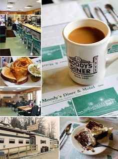 Moody's Diner Waldoboro, ME  - serve delicious food and be sure and save room for pie