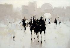 Geoffrey Johnson ~ Abstract Impressionism painter