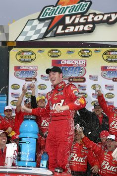 All of Dale Earnhardt Jr.'s Monster Energy NASCAR Cup Series victories  Monday, October 10, 2016  15. Nov. 7, 2004, Phoenix International Raceway, Checker Auto Parts 500  A championship still in reach, Earnhardt Jr. earned his second straight fall win at Phoenix for his sixth win of 2004. The win mark still stands as a career best, although Junior has since logged more top-10 finishes in a year than he did in 2004 (21).  Photo Credit: Getty Images  Photo: 15 / 26