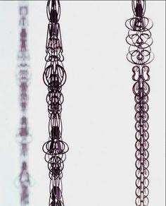 ALPHABET | Carla Riccoboni modular chains. Made in Italy - www.ilsedekeulenaer.be