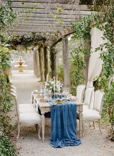 Romantic French Garden Bridal Luncheon Inspiration