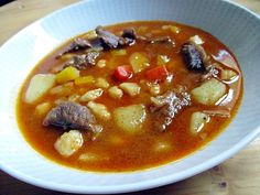 Goulash is one of the Hungarian national dishes and a symbol of the country. The origin of the dish dates back to the 17-18th centuries.