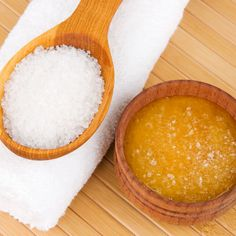 Homemade Body Scrub with Sugar
