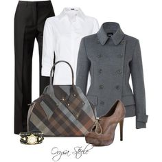 """Business Lunch"" by orysa on Polyvore"