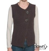 Possum and wool felted vest. $220
