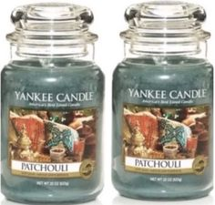 Candles 46782: 2 Yankee Candle 22 Oz Ounce Patchouli Jar Lot 2X -> BUY IT NOW ONLY: $51.95 on eBay!
