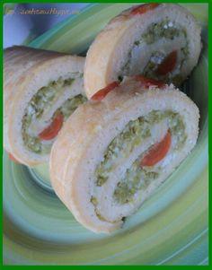 Zambetania: Ruladă aperitiv cu dovlecei Bagel, Bread, Food, Fine Dining, Eten, Bakeries, Meals, Breads, Diet