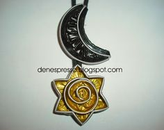 denespresso: collar luna-estrella