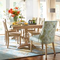 Bradding Natural Stonewash 84 Quot Dining Table Home