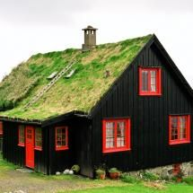 A home in the Faroe Islands