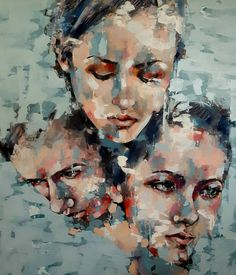 Three heads piece completed large scale oil on canvas depicting multiple head studies. #fineart #paintings #oils #canvas #heads #contemporaryart #creative #expressive #inspiration #artoftheday #instaart #artistoninstagram #picoftheday #mood #girl http://ift.tt/2es9akz