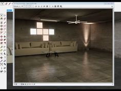 IES, Rectangle light and emissive   Sketchup tutorial