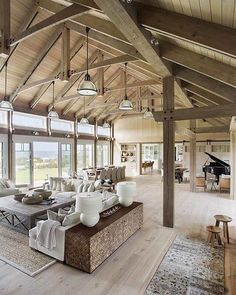 If you are going to build a barndominium, you need to design it first. And these finest barndominium floor plans are terrific concepts to begin with. Jump this is a popular article Custom Barndominium Floor Plans Pole Barn Homes Awesome. Style At Home, Barn Style Homes, Barn Style House Plans, Barn House Design, Beach House Floor Plans, One Level House Plans, Barndominium Floor Plans, Barndominium For Sale, Pole Barn Homes