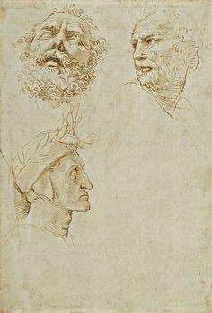 Raphael-studies-for-Parnassus-c1509-10.jpg (1015×1500)