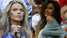 FOTOS: Más chicas bellas en la Eurocopa 2012