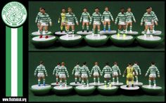 He always beat me in Subbuteo cos he flicked to kick and I didn´t know.