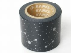Beautiful starry washi tape -- mt : マスキングテープ 星座 (濃紺) | Sumally