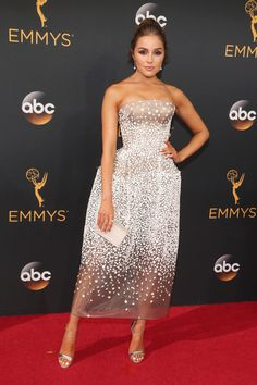 The Best Looks From The 2016 Emmys - Olivia Culpo in Zac Posen - September 2016