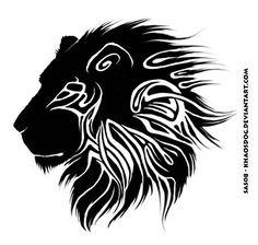 Tribal Lion Tattoo Designs: Top Tribal Lion Tattoo Designs Image ...