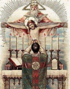 The Holy Sacrifice of the Mass is the Sacrifice of Christ on the Cross.