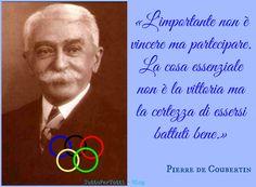 TuttoPerTutti: PIERRE de FRéDY, barone di COUBERTIN (Parigi, 01 gennaio 1863 – Ginevra, 02 settembre 1937)