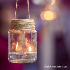 Az estéket dobjátok fel DIY lámpásokkal! 🙂 #aldi #kertművészet Mason Jar Lamp, Table Lamp, Lighting, Diy, Home Decor, Table Lamps, Decoration Home, Bricolage, Room Decor