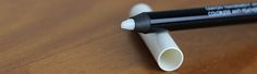 lápis labial transparente