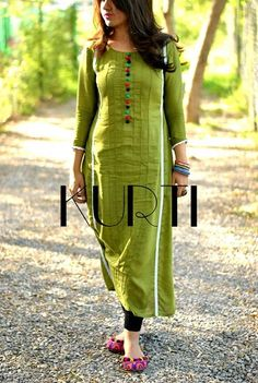 casual long kurti designs - Google Search