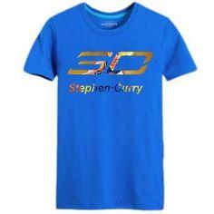 Summer Warriors Stephen Curry Short-sleeved T-shirt custom college jersey