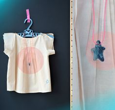 Etoile et Moi top and BKids Wear Neon jewelry collection