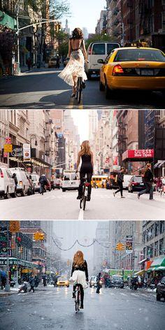 Summer, Fall & Winter. NYC