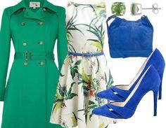 Hallo #Frühling! Das farbenfrohe #Outfit lässt Dich bei jedem Wetter strahlen ♥ #Fashion