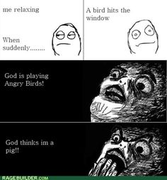 rage comics - He is All Knowing, is He Not?