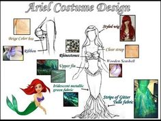 ▶ The Making of Ariel's Cosplay From The Little Mermaid - YouTube