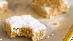 No-bake Lemon Coconut Slice