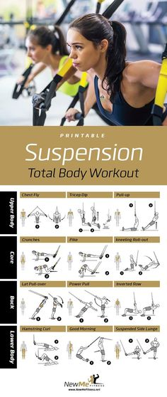 TRX Suspension Workout. Awesome Workout You Can Do Anywhere!