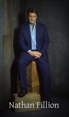 Canadian actor Nathan Fillion (Firefly & Castle tv series), a native of St Albert, just outside Edmonton.