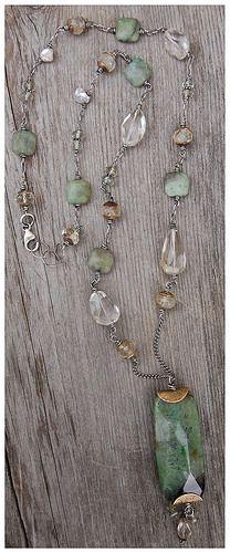 Necklace- Fluorite Pendant | Flickr - Photo Sharing!