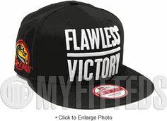 Mortal Kombat AKA Flawless Victory Black White Side Patch New Era Snapback  Hat New Era Snapback cb61b197f941