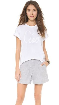 subtle graphic tee - sincerely jules $33
