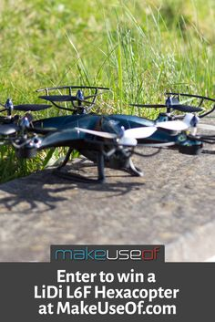 Enter to win a LiDi L6F Hexacopter drone!