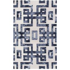 Ashbury Rug ($400) ❤ liked on Polyvore featuring home, rugs, filler, hand made rugs, handmade rugs, geometric pattern rugs and watercolor rug