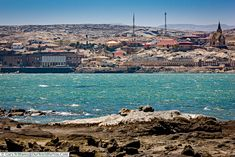 A view of the town,Lüderitz, Namibia Land Of The Brave, West African Countries, Cityscapes, Paris Skyline, Exploring, Grand Canyon, Road Trip, National Parks, River