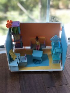 """Olivia (age created this """"Babysitters Club"""" with Roominate. Thanks for sharing your design Olivia! Babysitters, Thanks For Sharing, Your Design, Thankful, Age, Make It Yourself, Club, Create, Toys"""