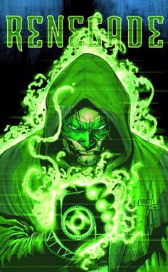 "New Looks Revealed for The Green Lantern . Hal Jordan goes rogue on Billy Tan's cover for ""Green Lantern"" - Comic Book Resources Green Lantern Corps, Green Lantern Hal Jordan, Green Lanterns, Blue Lantern, Lantern Post, Comic Book Characters, Comic Character, Comic Books Art, Arte Dc Comics"